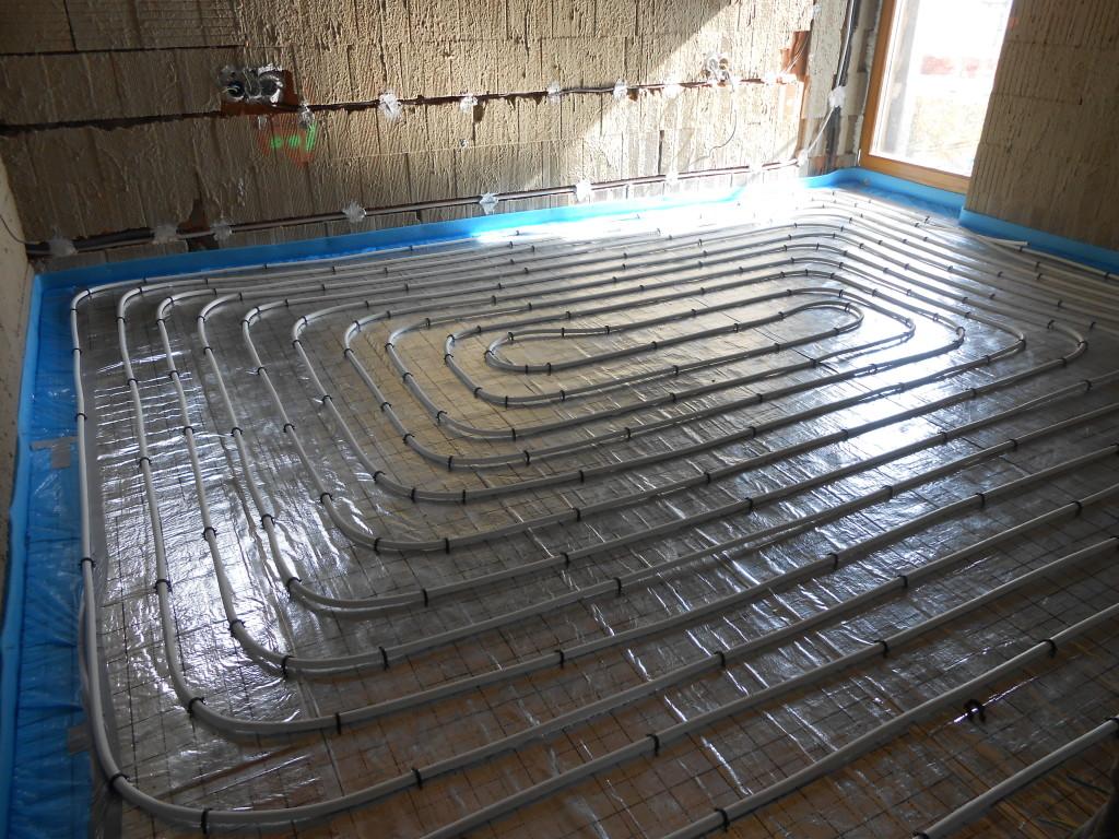 podlahové vytápění RD (2)