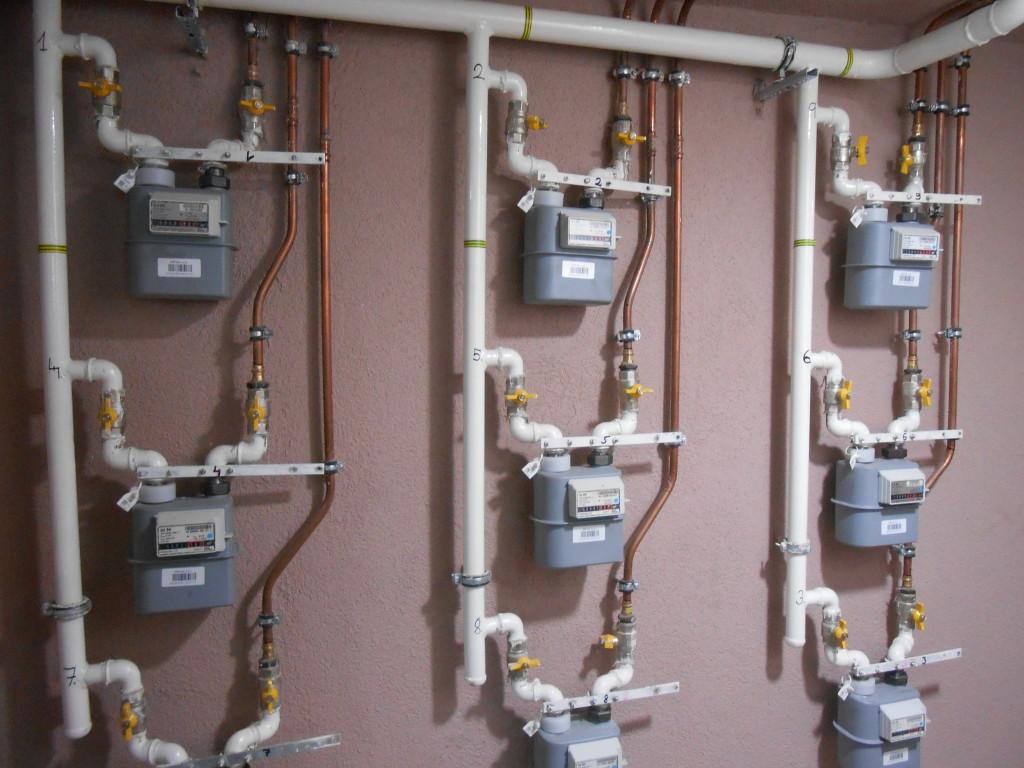 výměna plynových stoupaček