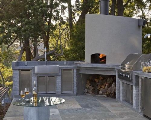 Modern-Outdoor-Kitchen-Exterior-Design